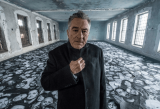 Robert De Niro in Ellis, by JR, 2015